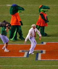 Mr. Two Bits (shiftdnb) Tags: two football nikon florida stadium gators swamp bits uf collegefootball mrtwobits floridafield floridagators benhillgriffinstadium nikond40x d40x