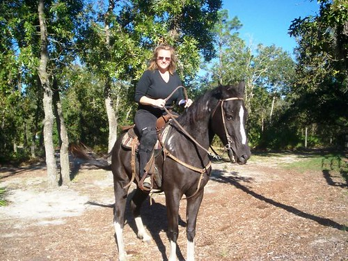 The first time Ive rode my horse since I broke my wrist back in August on the 11th..this was taken 10 27 08