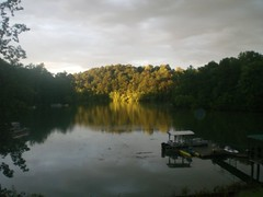Sunset at the lake 2 (Realtorldy) Tags: virginia oldwomanscreek leesvillelake flattopcove grenta