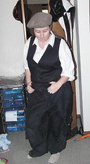"For ""Man It Up"" hen's night (moonborn) Tags: me crossdressing 2008"