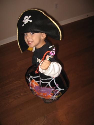 I'm a pirate...arrgh!