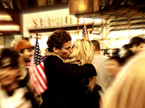 """THE KISS"" (on Election Night, Times Square, NYC) (Sion Fullana) portrait newyork history love night hope kiss action streetphotography photojournalism timessquare change nightshots elections iconic democrats obama soe thekiss journalism allrightsreserved hapiness newyorkers beautifulcouple coupleinlove yeswecan makinghistory bej lovekiss abigfave iconicimage 1000faves panasonicdmcfz50 democraticvictory diamondclassphotographer flickrdiamond elections2008 famouskiss betterthangood theperfectphotographer damniwishidtakenthat obamapresident obamasvictory obamasvictorycelebration timessquarecelebrates newyorkcelebrates doisneauinspiration girlandguykissing kissingtocelebrate thekisstimessquare tributetobaiserdelhteldeville featuredonnbcnewyorkcom sionfullana thebestkiss beautifulkissers beautifulcouplekissing 1000peoplecallthisafavorite"