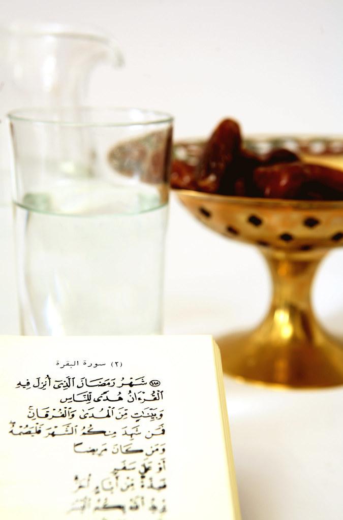 بر سر سفره افطاری ماه رمضان