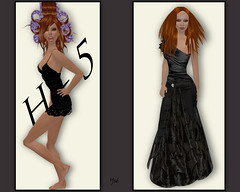 Fashion victim avant/aprs (Ys Ah) Tags: secondlife mmskins fashionsladdict