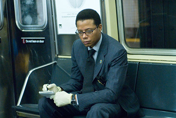 Terrence Howard as Detective Mercer in The Brave One