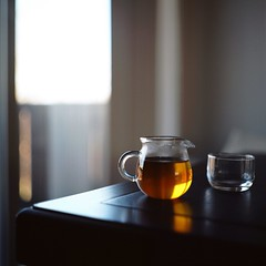 Afternoon Tea (Inside_man) Tags: stilllife slr 120 6x6 film colors mediumformat colorful bokeh teapot transparent teacup afternoontea blacktea bronicas2 portranc zenzabronicas2 oolongcha