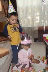 birthday gift mess
