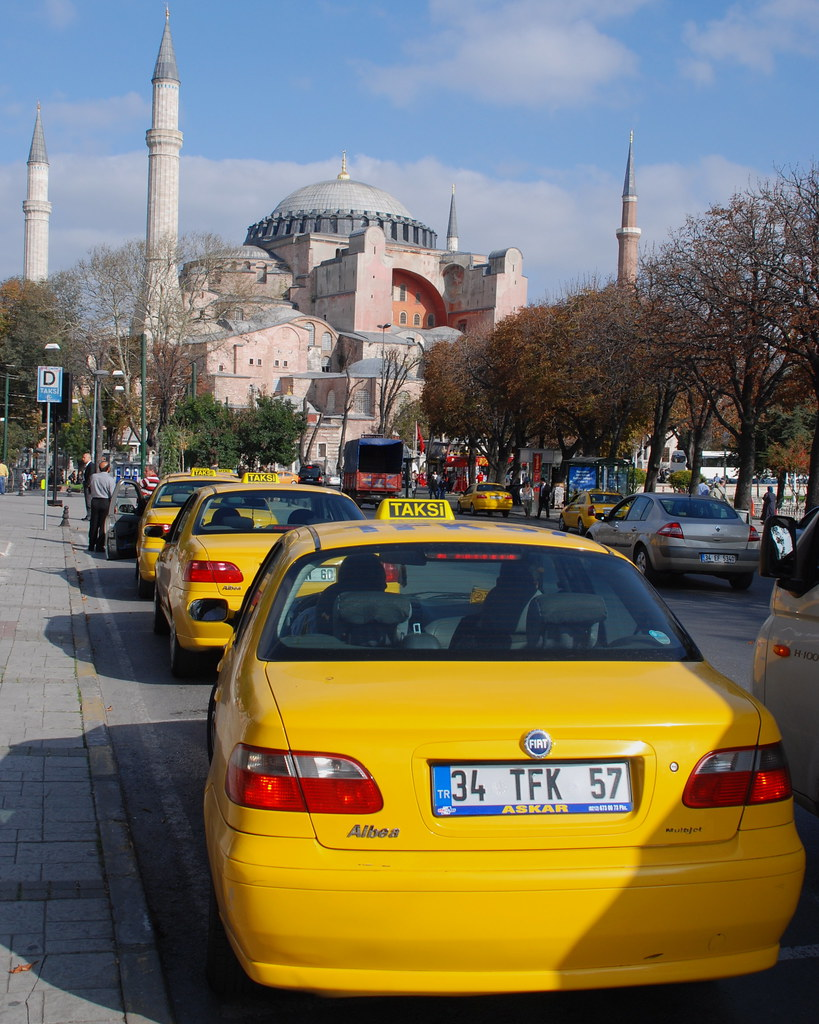 Image result for istanbul sultanahmet taksi