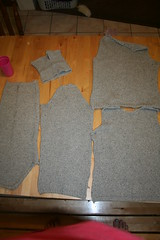 sweater deconstruction
