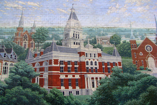 Montgomery Co. Courthouse mural