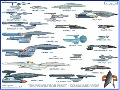 "Star Trek ""Ships of the Federation Fleet"" (skookums 1) Tags: startrek classic television vintage ship space borg hollywood captain spock scifi series sciencefiction pioneers enterprise fleet kirk federation skookums"