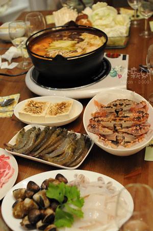 秋味海鮮鍋,正式上場