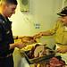 Thanksgiving on USS Freedom