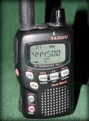 Yaesu VX-1R (Hammer51012) Tags: radio olympus ham handheld ht amateur yaesu 440mhz 2meters sp570uz vx1r