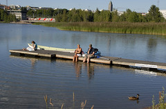 oh how I miss those long and lazy sunny afternoons (Poupetta) Tags: finland helsinki tlbay myfavoriteplaceintown