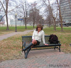 A Quick Break... (Miss Kellie Keene) Tags: woman beautiful lady suits boots coat transgender kansascity kc lovely miss tg kellie stylish businesswoman careerwoman misskellie