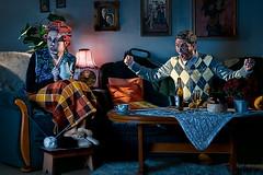Zeitreise (vd.Bruck) Tags: old germany deutschland nikon europe alt leipzig grandparents wise oma opa d300 timeshift sb800 zeitreise lutherstadt eisleben strobist groseltern