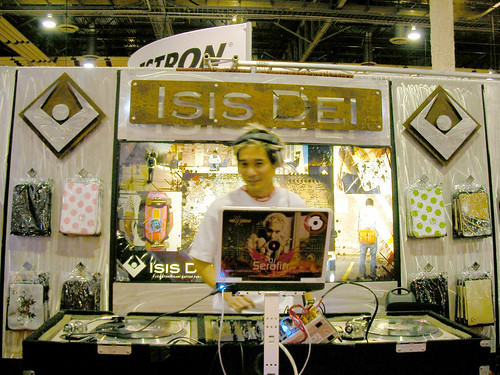 Isis Dei at CES 2008 by LauraMoncur from Flickr