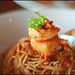 prawn & scallop pasta by aloalo*
