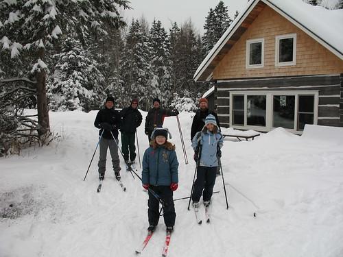 Birthday ski