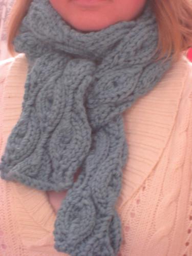 climbing vines scarf december 2008 002