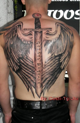 angel wings. tattoo make it in