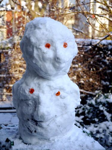 Snow totem