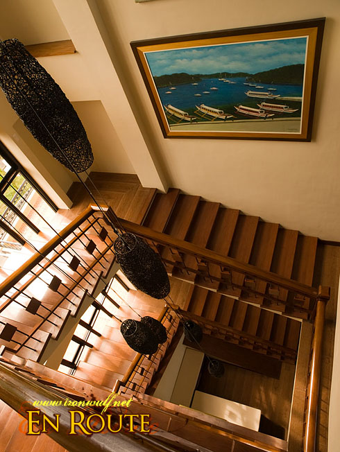 Puerto Galera Manor Stairs