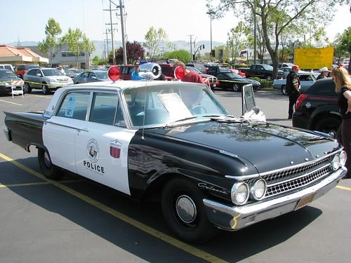 american graffiti wallpaper. 1961 Ford Police Car (American Graffiti Replica) 2