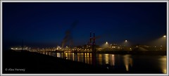 IJmuiden - Hoogovens (Alex Verweij) Tags: blue industry canon cores blauw nightshot tripod bleu industrie hoogovens fotoclub velsen timeshot tijdopname nachtopname 40d alexverweij almeersefotoclub
