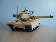 M1A1 Abrams Work in progress (Mad physicist) Tags: army tank lego m1 military wip abrams