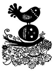 birds are both beautiful & fascinating (* Little Circus Design *) Tags: tattoo illustration skulls skeleton pattern decorative australiana floralpattern brushandink thedayofthedead birdimages brushink melbourneart australianart contemporaryillustration blackandwhiteimages thejackywintergroup monochromaticcolour littlecircusdesign madeleinestamer littlebirdsville limitededitiongicleeprints australianillustration contemporaryfolkstyle