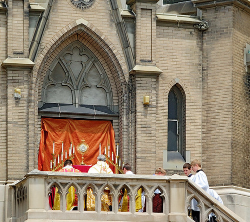 Saint Francis de Sales Oratory, in Saint Louis, Missouri, USA - Corpus Christi procession 6