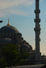 Minaret and Mosque (Let Ideas Compete) Tags: travel turkey minaret istanbul mosque scandinavia scandinavian touristcity muslimcountry istanbbul secularcountry