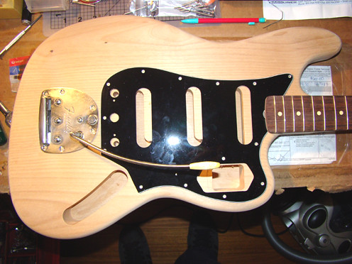 bass vi recreation build i m a bassplaya i couldn t work out how to get the freakin photocopier at work to scale up the fender headstock off of the fender pdf could i ah well