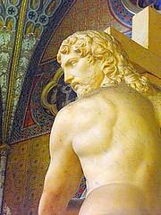 Cristo Risorto (Fata_Ignorante) Tags: sculpture rome roma statue poetry poesia cristo michelangelo statua scultura santamariasopraminerva