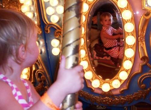 Canarissa on Star Spangled Carousel