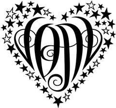 """""""JDAL"""" Heart Design"""