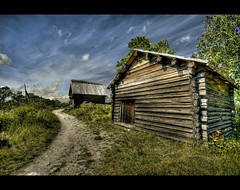 Old Sweden (Bs0u10e0) Tags: wood old summer june museum nikon europe open sweden stockholm path timber air sigma oldbuildings historical sverige 1020mm scandinavia skansen openairmuseum 2009 hdr scandanavia sigma1020mm replicas photomatix tonemapped tonemapping d80 nikond80 djurgarden