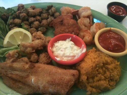 Seafood Sampler Plate