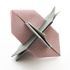 Hexa XYZ (Maria Sinayskaya) Tags: geometric origami planar modularorigami