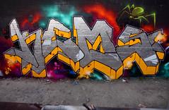 REPEAT (ALL CHROME) Tags: streetart money canon graffiti boobs spiders explorer guns spraypaint sucks obama kemer kem allchrome kem5 kems kemr