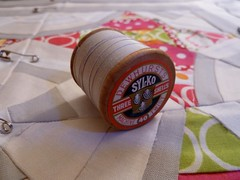Brit Quilt Swap - Quilting Harlot's Web - Vintage Thread