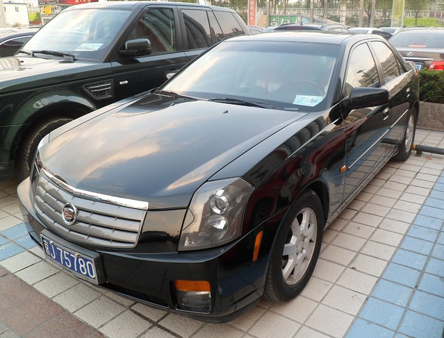 sedan cadillac cts cadillaccts worldcars vehiclesinchina carsinchina vehiclesinbeijing carsinbeijing