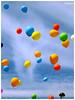 Balões Coloridos/ Colored Balloons (Adalton Ramos) Tags: blue red brazil green colors yellow brasil happy sony happiness colored xingu dalton ballons pará ramos altamira balões amazônia platinumheartaward daltonramos flickrraimbowpics bemflickrbembrasil