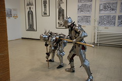 Knights (CookieDuster) Tags: travel k arms knights armor axes modernmarvels higginsmuseum