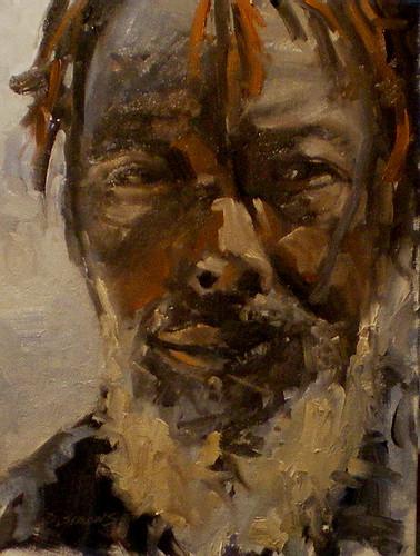 Oild Portrait by David Simons