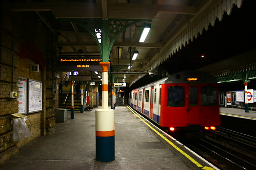 Plaistow Station by Nicobobinus