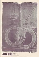 Jauna gaita 124 (Design and illustrations from Latvia) Tags: illustration typography design graphicdesign latvia 70s 1979 latvija coverdesign dizains grafiskaisdizains ilustrācija jaunagaita voldemārsavens
