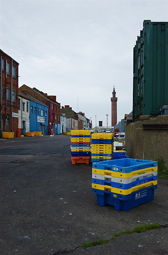 Grimsby Docks and Dock Tower